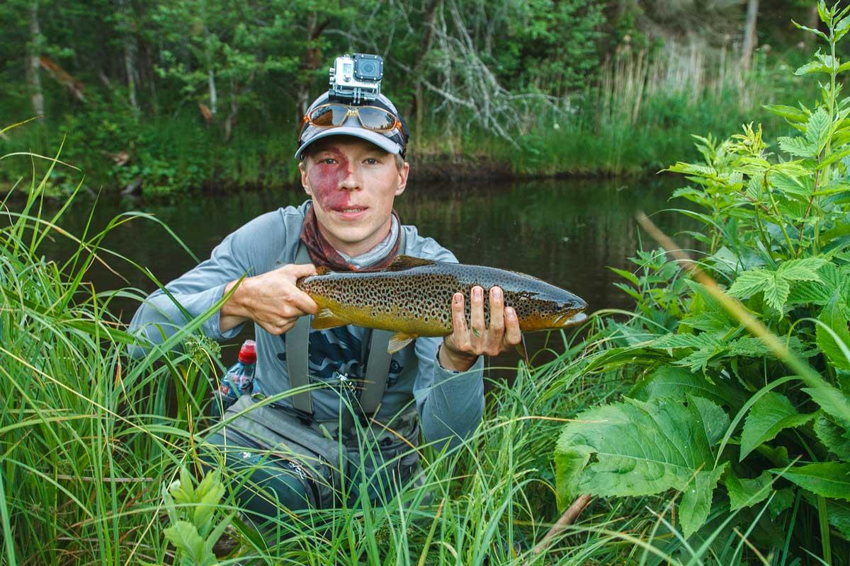 Fly fishing in Estonia